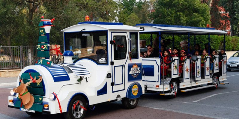 Gezi Treni - Shuttle Yolcu Taşıma Aracı -Elektrikli yolcu taşıma aracı